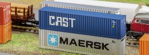 FALLER 272841 40ft Hi-Cube Container CAST Fertigmodell 1:160 kaufen