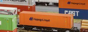 FALLER 272842 40ft Hi-Cube Container Hapag-Lloyd Fertigmodell 1:160 kaufen
