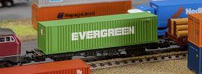 FALLER 272843 40ft Hi-Cube Container EVERGREEN Fertigmodell 1:160 kaufen