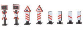 FALLER 272913 Andreaskreuze und Warnbaken 8 Stück Fertigmodell 1:160 kaufen