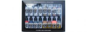 VALLEJO 771181 Farbset Metall-Effekte | 16x 17 ml kaufen
