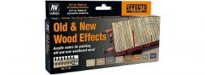 VALLEJO 771187 Farbset Alt-Neu Effekt Holz | 8x 17 ml kaufen