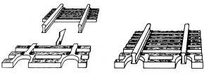 FLEISCHMANN 22215 Schwellenendstück | für  Flexgleis | Spur N kaufen