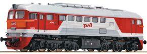 FLEISCHMANN 725210 Diesellok M62, rot/grau RZD   analog   Spur N kaufen