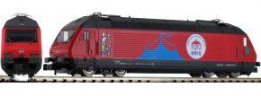 FLEISCHMANN 731501 E-Lok Re 460 Circus Knie SBB   DC analog   Spur N kaufen