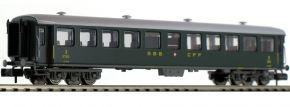 FLEISCHMANN 813908 Schnellzugwagen B 2.Kl. SBB | Spur N kaufen