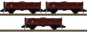 FLEISCHMANN 820530 3-tlg. Kohlewagenset Omm52 DB | DC | Spur N kaufen