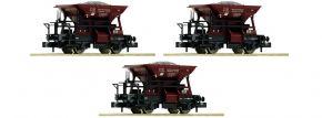 FLEISCHMANN 822706 3-tlg. Set Talbot Schotterwagen DRG   Spur N kaufen