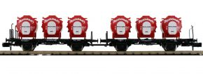 FLEISCHMANN 823302 Set Behältertransportwagen Resi-Schmelz DB   2-tlg.   Spur N kaufen