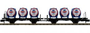 FLEISCHMANN 823305 2-tlg. Set Behältertragwagen Schärdinger Milch ÖBB | Spur N kaufen