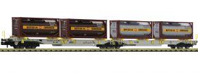 FLEISCHMANN 825007 Doppeltaschen-Gelenkwagen T2000 Bertschi AAE | Spur N kaufen