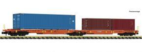 FLEISCHMANN 825013 Doppeltaschen-Gelenkwagen Wascosa T-2000 AAE | Spur N kaufen