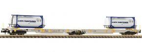FLEISCHMANN 825015 Doppeltaschen-Gelenkwagen T2000 AAE | Spur N kaufen