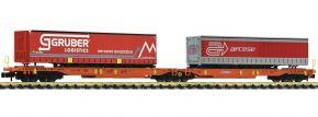 FLEISCHMANN 825016 Doppeltaschen-Gelenkwagen T2000 WASCOSA | Spur N kaufen