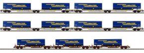FLEISCHMANN 825017 Tragwagen-Set 7-tlg. LKW Walter | Spur N kaufen