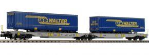 FLEISCHMANN 825018 Doppeltaschenwagen T2000 LKW Walter AAE | Spur N kaufen
