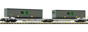 FLEISCHMANN 825025 Doppeltaschen-Gelenkwagen T2000 MOVE AAE | Spur N kaufen