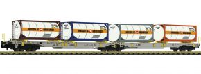 FLEISCHMANN 825026 Doppeltaschenwagen-Genlenkwagen T2000 AAE | Spur N kaufen