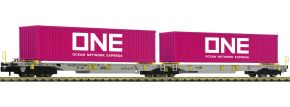 FLEISCHMANN 825027 Doppeltaschen-Gelenkwagen T2000 AAE   Spur N kaufen