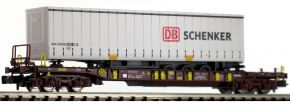 FLEISCHMANN 825050 Taschenwagen T3 mit Auflieger AAE | Spur N kaufen