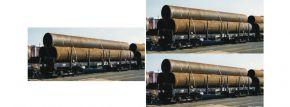 FLEISCHMANN 826702 3-tlg. Flachwagen Rmms DB AG | Spur N kaufen