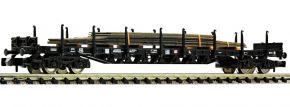 FLEISCHMANN 826811 Rungenwagen Rs mit Stahlplatten DB AG | Spur N kaufen