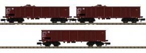 FLEISCHMANN 828345 3-tlg. Set Güterwagen Easos mit Schrottbeladung DB | Spur N kaufen