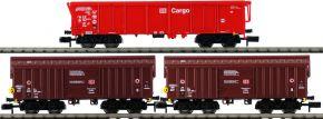 FLEISCHMANN 829357 3-tlg. Set 1 Tontransportwagen DB AG | Spur N kaufen