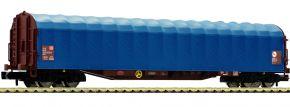 FLEISCHMANN 837709 Schiebeplanenwagen Rilns 652 DB | Spur N kaufen