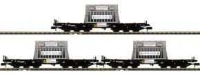 FLEISCHMANN 845512 3-tlg. Set Schwerlastwagen Samms DB | Spur N kaufen