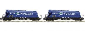 FLEISCHMANN 849004 Staubbehälterwagen-Set 2-tlg. Uacs-x VTG | Spur N kaufen