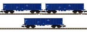 FLEISCHMANN 852329 3-tlg. Set Offene Güterwagen Eaos PKP Cargo | Spur N kaufen