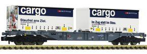 FLEISCHMANN 865244 Containertragwagen Sgnss SBB Cargo | Spur N kaufen