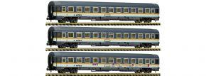 FLEISCHMANN 881901 3-tlg. Set Eurofima-Wagen alex | Spur N kaufen