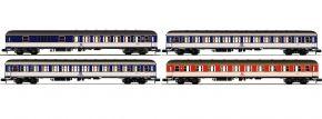 FLEISCHMANN 881908 4-tlg. Set Popfarbener DC-Zug DB | Spur N kaufen