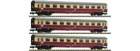FLEISCHMANN 881911 3-tlg. Set Nr. 1 Autoreisezug Christoforus-Express DB | Spur N kaufen