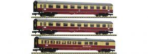 FLEISCHMANN 881912 3-tlg. Set Nr. 2 Autoreisezug Christoforus-Express DB | Spur N kaufen