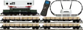 ausverkauft |FLEISCHMANN B-WARE 931886 z21 Digital-Startpackung E-Lok BR 194 mit Güterzug DB | DCC Sound | Spur N kaufen