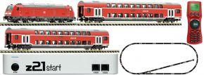 FLEISCHMANN 931897 z21 Digital-Startset Diesellok BR 245 mit Personenzug DB AG | DCC | Spur N kaufen