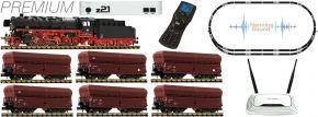 FLEISCHMANN 931898 Premium z21 Digital-Startset BR 044 mit Erzzug DB | DCC Sound | Spur N kaufen