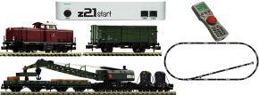 FLEISCHMANN 931899 z21 Digital-Startset Diesellok BR 212 mit Bauzug DB | DCC | Spur N kaufen