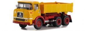 GMTS 8700265 Krupp F 360 K Dreiseitenkipper gelb/rot   LKW Modell 1:87 kaufen