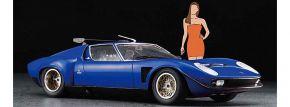 HASEGAWA 20472 Lamborghini Jota SVR mit Figur | Auto Bausatz 1:24 kaufen