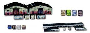 Heki 10600 Lagerhallenset | Kartonbausatz für Hintergrund | Spur H0 kaufen