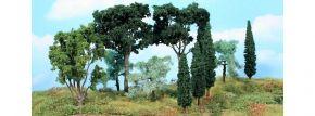 Heki 1774 Mediterranes Baumset | Höhe 8 -17 cm | 11 Stück | Spur H0 TT N kaufen