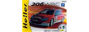 Heller 50752 Modell-Set Peugeot 206 WRC 2003 | Auto Bausatz 1:24 kaufen