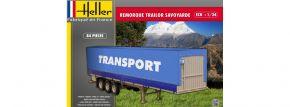 Heller 80771 Remorque Trailor Savoyarde | LKW Anhänger Bausatz 1:24 kaufen