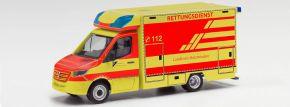 herpa 096522 MB Sprinter 18 Fahrtec RTW Landkreis Holzminden | Blaulichtmodell 1:87 kaufen