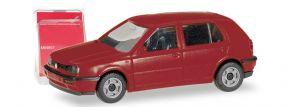 herpa 012355-008 MiniKit VW Golf III  weinrot Bausatz 1:87 kaufen