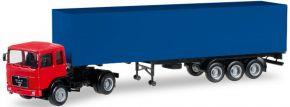 herpa 012799 MiKi MAN F8 Koffer-Szg   LKW-Modell 1:87 kaufen